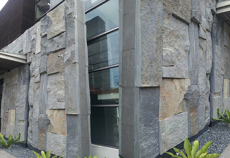 OuMing stone-granite-project-exterior wall