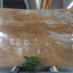 Ouming natrual marble-Golden Emerald-slab