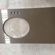 Prefab countertop,Quartz countertop,QS256Vanity top