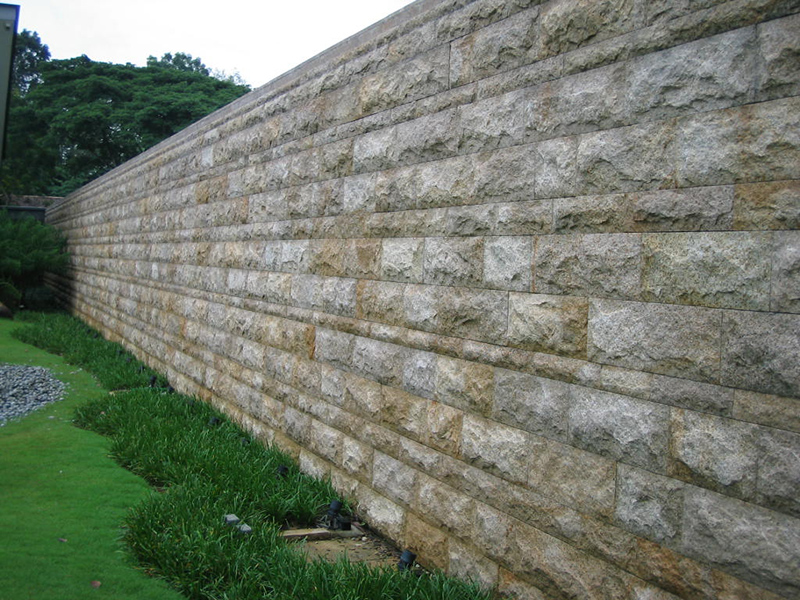 OuMing natrual stone-granite-Singapore Project-exterior wall-G682