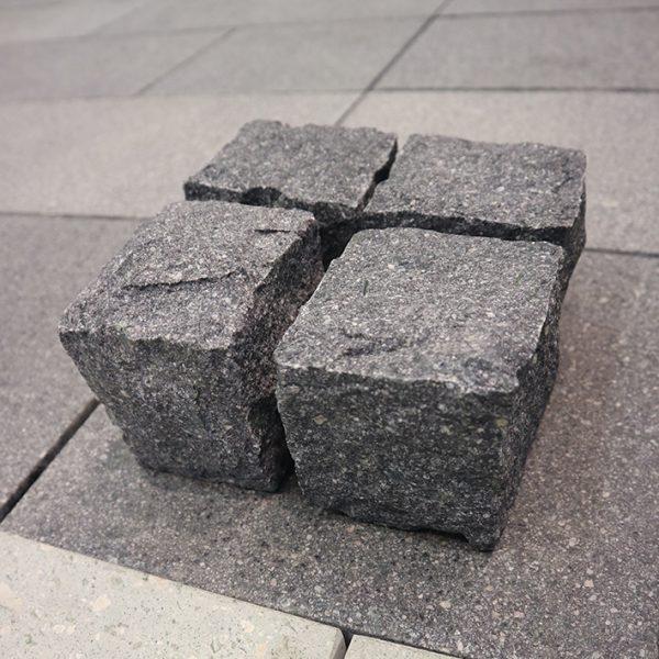 OuMing natrual stone-granite-starry sky-cube stone