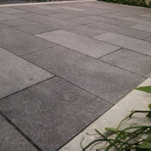 OuMing natrual stone-granite-starry sky-project-floor