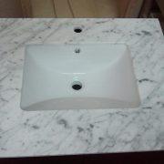 Natrual granite -prefab vanity top-Bianco carrara