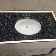 Natrual granite countertop,Bathroom Countertop-Blue pearl,Natrual granite prefab countertop,prefab vanity top