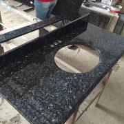 Natrual granite -prefab vanity top-Blue Pearl