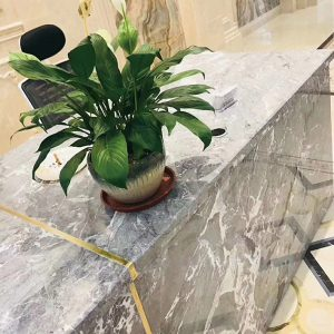 Ouming natrual marble-Dream grey-countertop