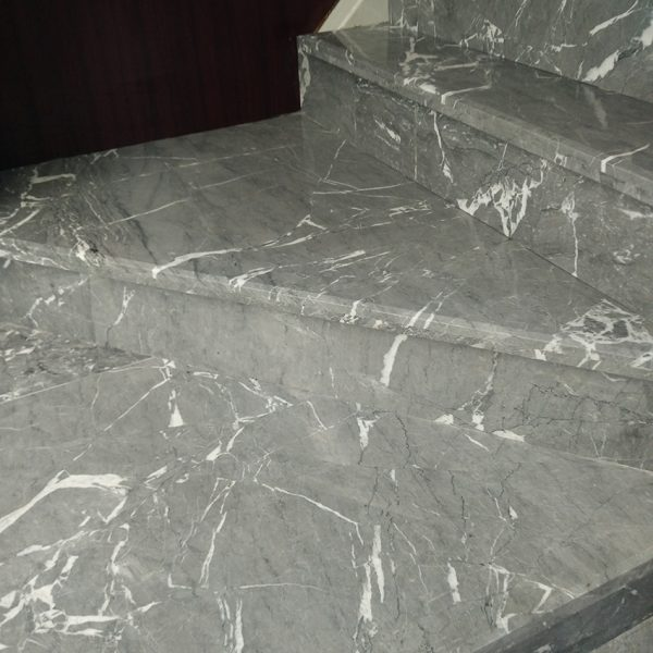 Ouming natrual marble-Dream grey-project-floor