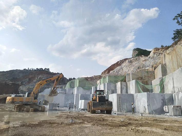 Ouming natrual marble-Dream grey-quarry