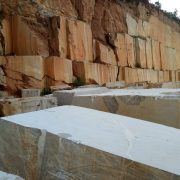 Ouming natrual marble-Golden Emerald-Mine&block