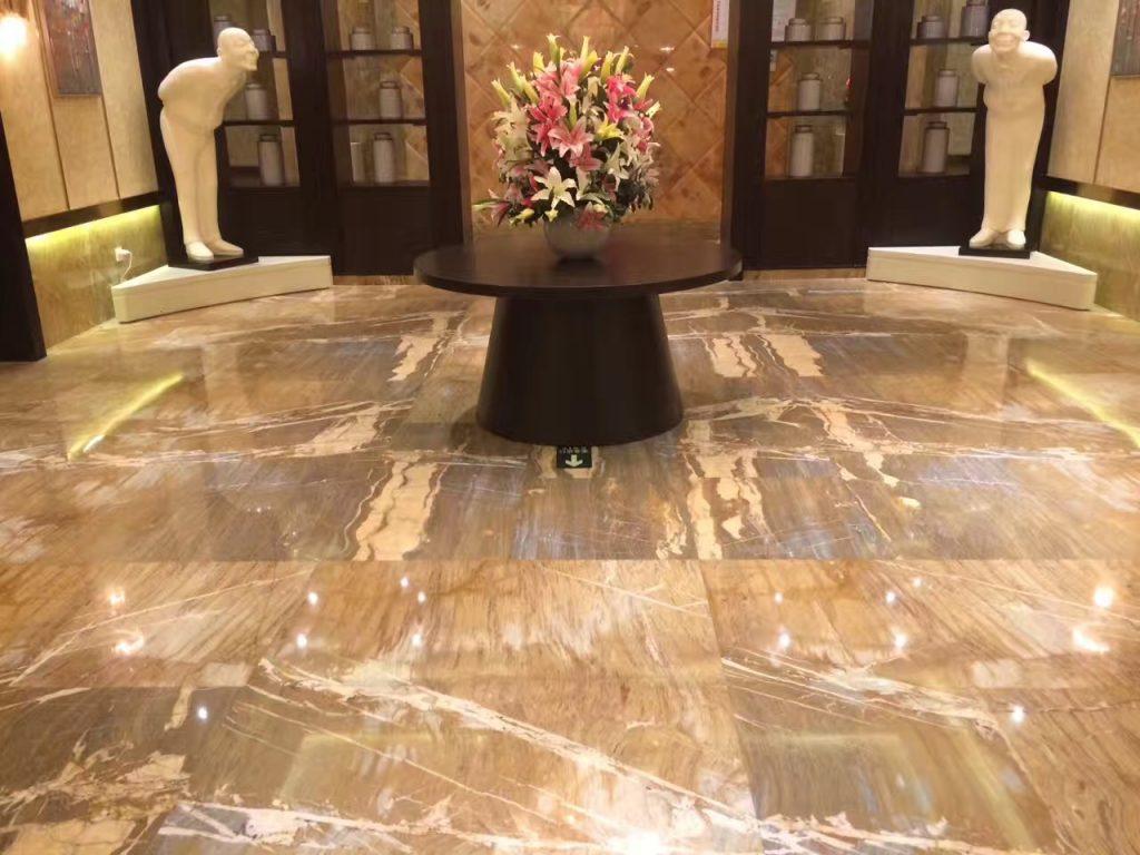 Golden Emerald floor