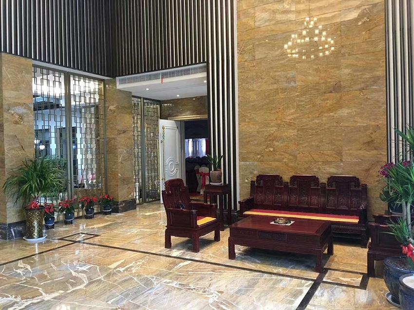 Golden Emerald floor&wall