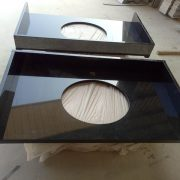 bathroom Countertop-hebeiBlack,Natrual granite prefab countertop