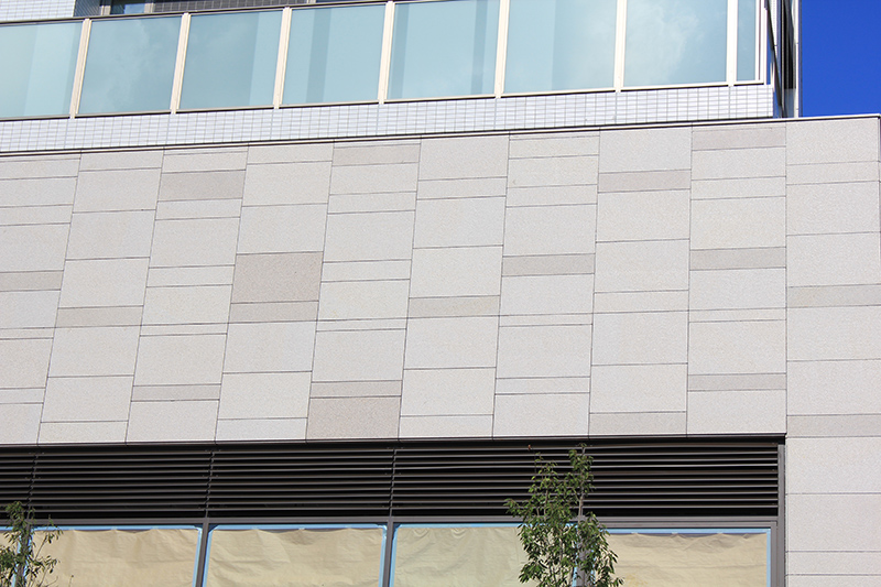 natrual stone-granite-project-exterior wall-G681