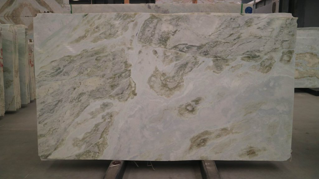 changbai green jade slab
