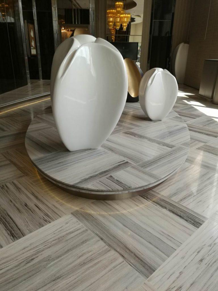 crystal wooden floor