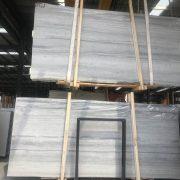 natrual marble blue wooden slab