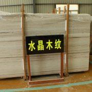 crystal wooden slab