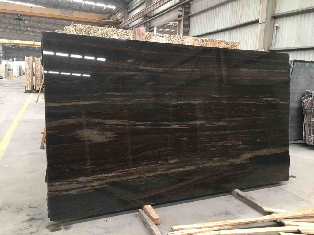 Quicksand Brown Granite Slab