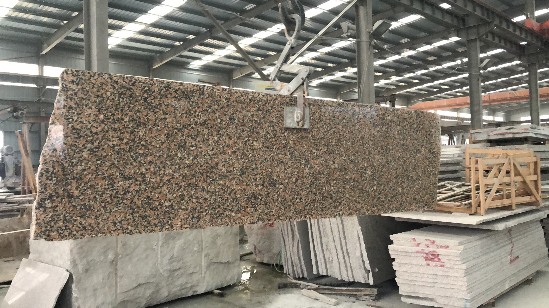 natrual red granite wulian red
